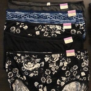Cacique Intimates & Sleepwear - NWT 5 pair women's Cacique full brief undies 18/20